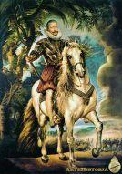Retrato del Duque de Lerma de Rubes ArteHistoria
